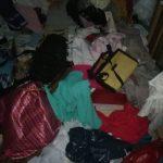 Begini kondisi dalam kamar rumah Fitri, guru madrasah di Kecamatan Manyar, Gresik yang disatroni maling pada Rabu, 10 Februari 2021