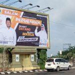 Salam perubahan , tagline yang diusung Bupati dan Wakil Bupati Gresik terpilih, Fandi Akhmad Yani-Aminatun Habibah (foto : chusnul cahyadi/1minute.id)